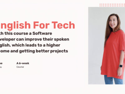 English For Tech – Level 1