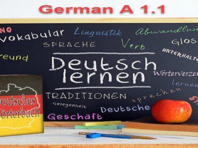 German Language – Level A1.1