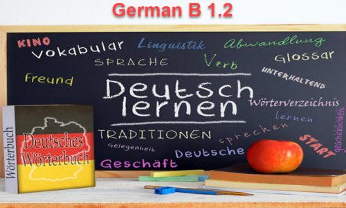 German Language – Level B1.2