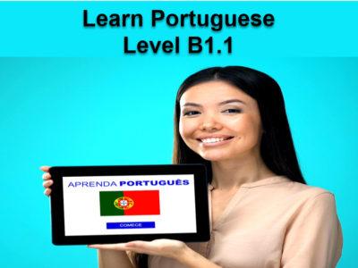 Portuguese Language – Level B1.1