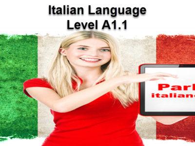 Italian Language A 1.1