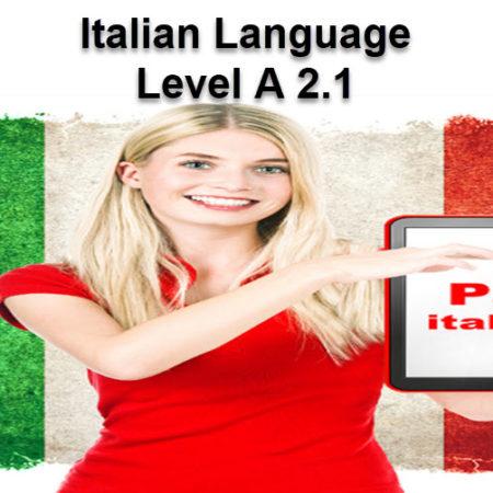 Italian Language A 2.1