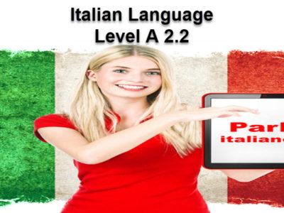 Italian Language A 2.2